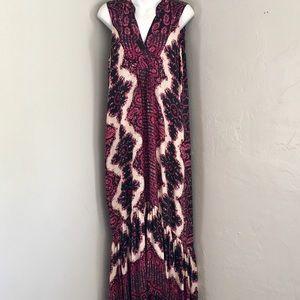 Gypsy 05 Global Village Silk Maxi Dress